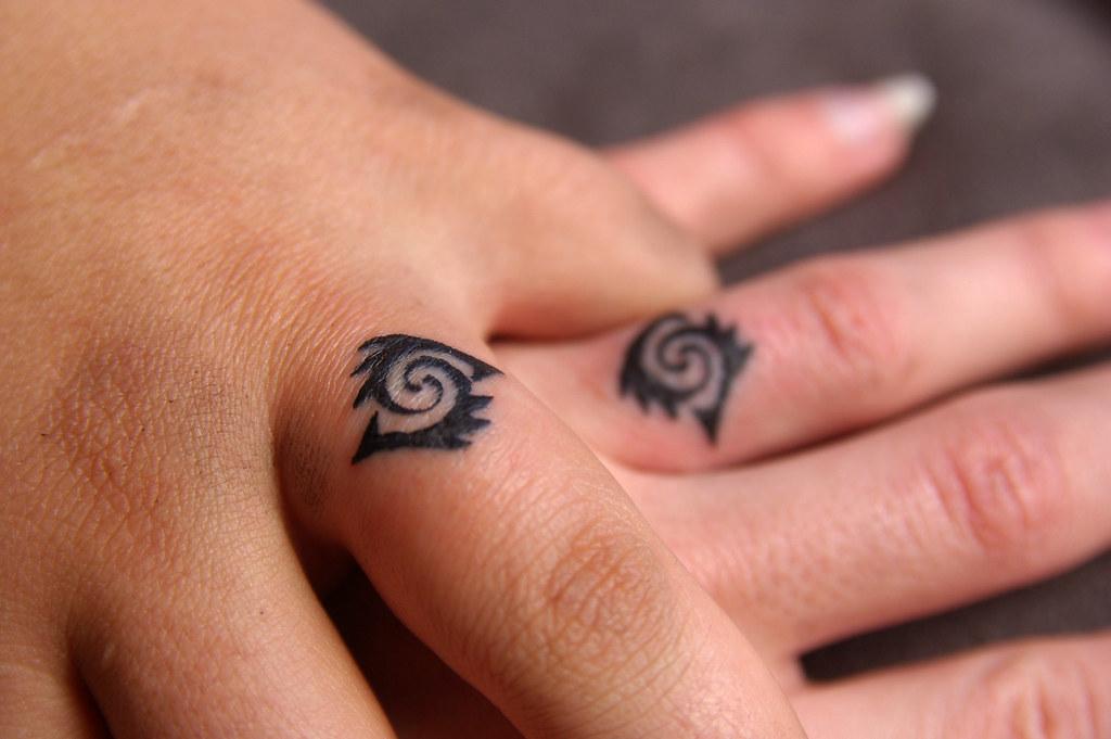 White Ink Tattoos Wedding Ring: We Got Our Wedding Ring Tattoos