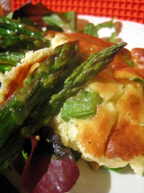 Cheese and Asparagus Souffle 034 | Cheese and Asparagus Souf ...