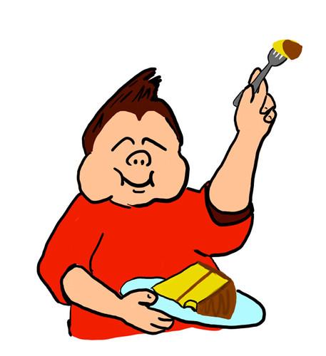 Cake Pan Cartoon