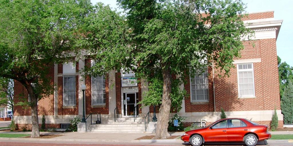 Old Post Office  Garden City Kansas Built In