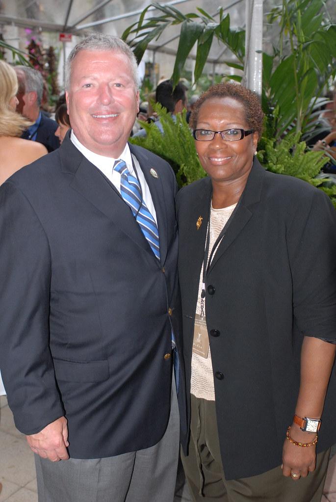Mayor Buddy Dyer And Jackie Brockington Photo By Billy Jon Creative Zing Promotion Group