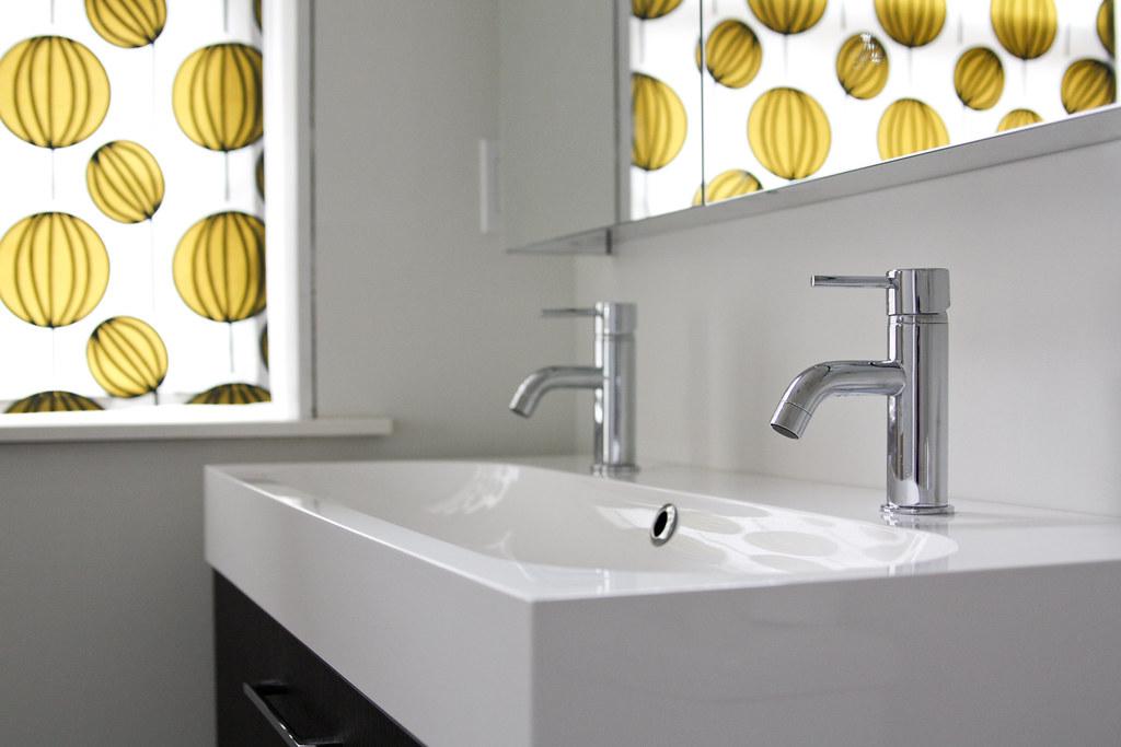 Modern Master Bathroom Progress Jpg Ikea Godmorgon Sink Ca Flickr