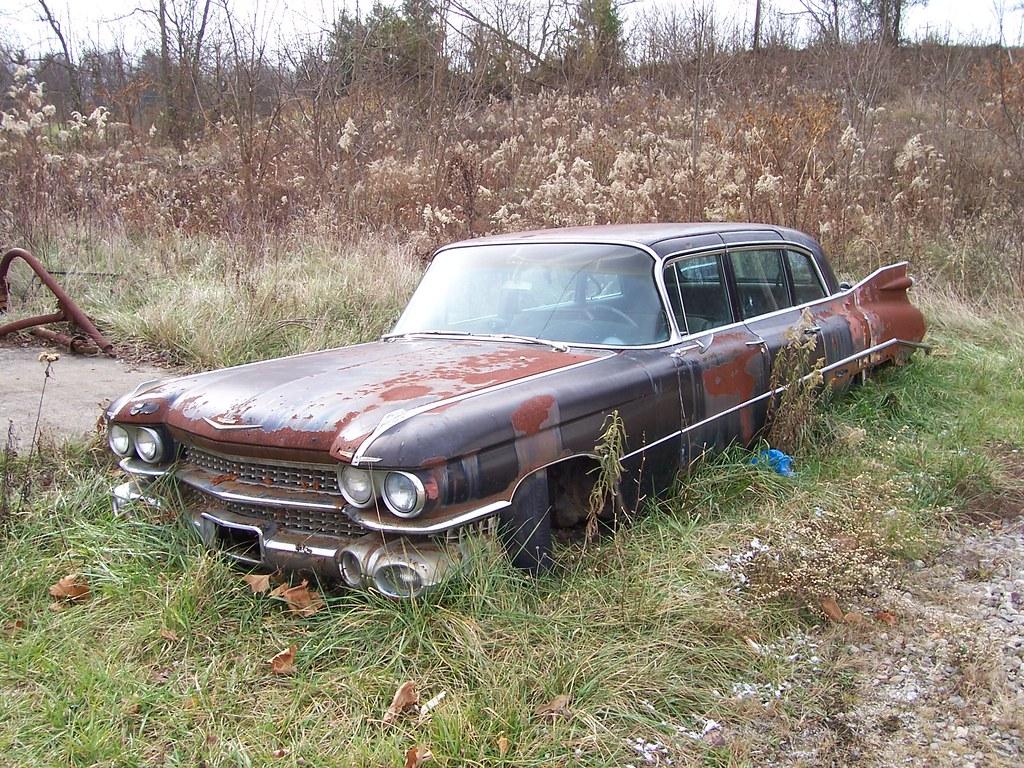 New Cadillac Eldorado >> Rusty 1959 Cadillac | An awesome old rusty '59 Cadillac whic… | Flickr