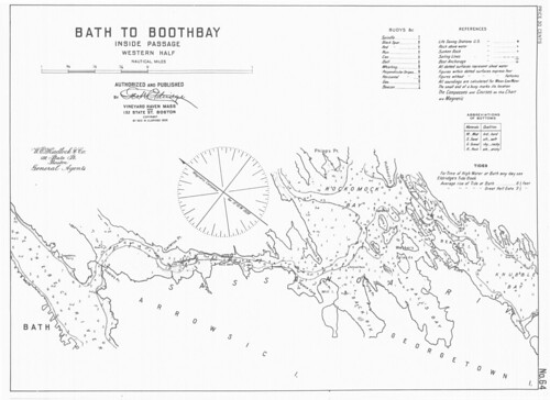 Bath to Boothbay, Inside Passage, Western Half [Maine] | by uconnlibrariesmagic