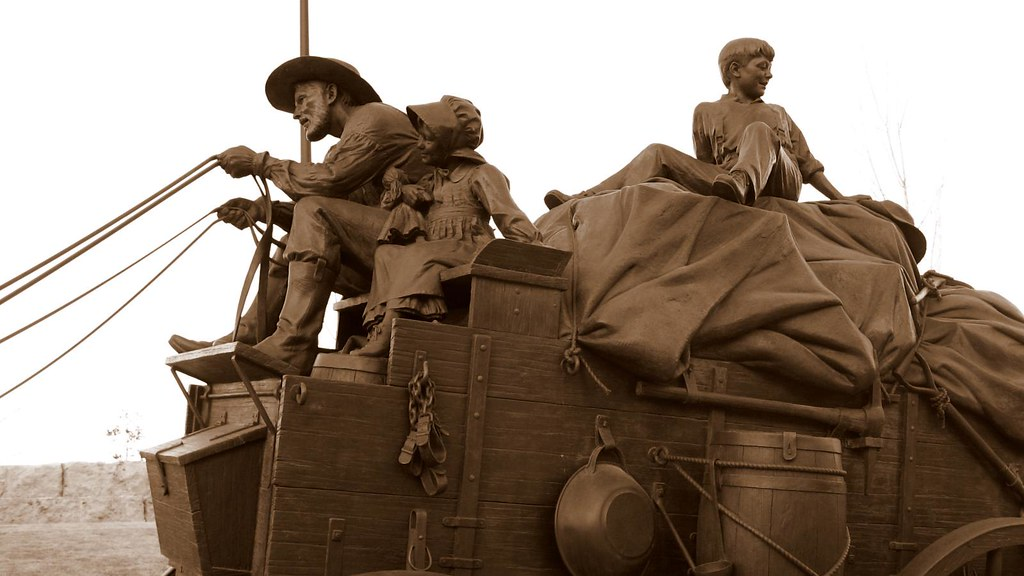 Pioneer Courage Park Omaha, Nebraska | First National's Spir… | Flickr