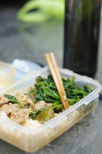 Day 93 - Green Curry Lunchbox | by JoeGray