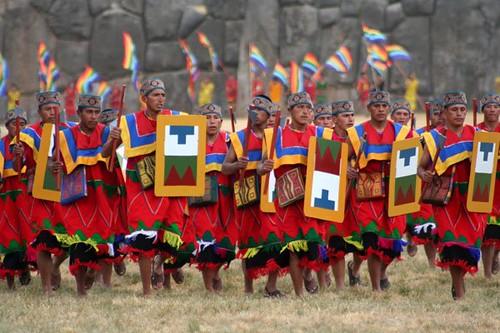 Inca Warriors At Sacsayhuam 225 N Inti Raymi Mark Jones