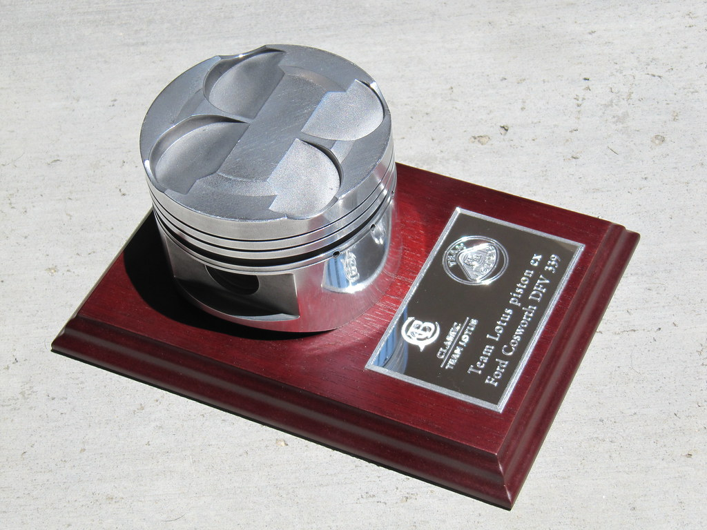 Piston From Lotus Cosworth Dfv 339 Piston From The Ford