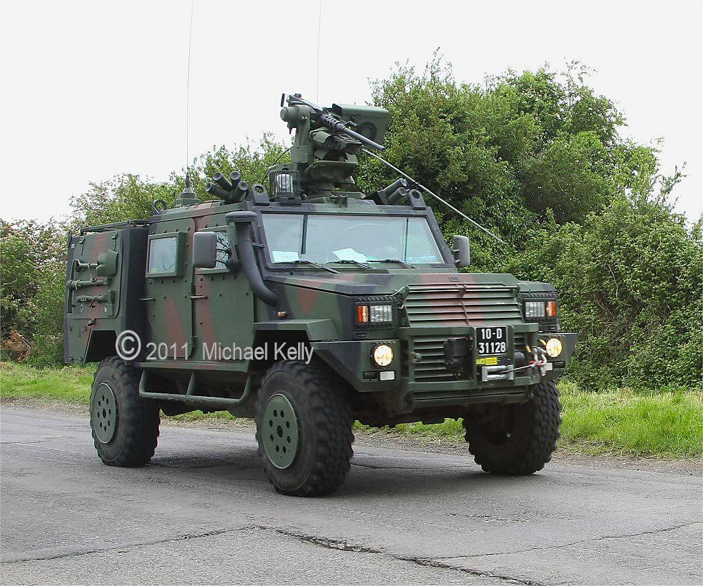 Irish Army Land Systems Omc Ltav Light Tactical Armoured