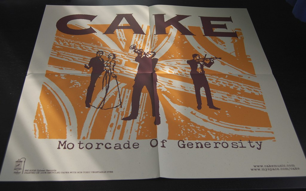 Cake Motorcade Of Generosity Rar