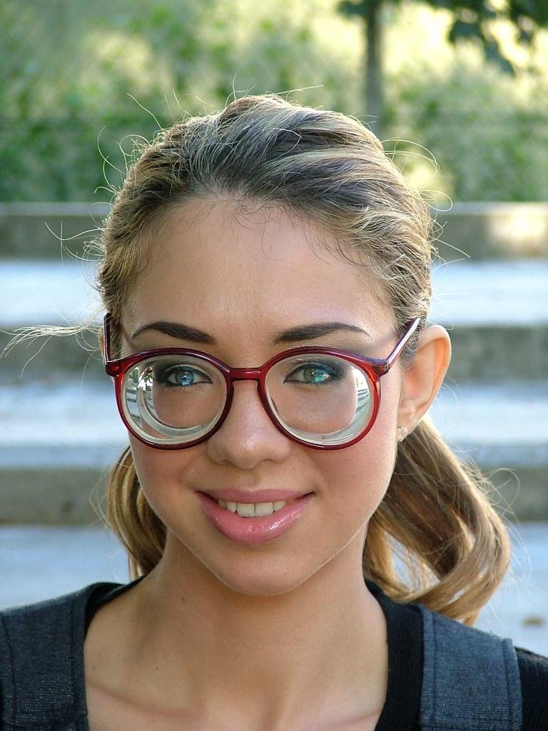 cute girl glasses wallpaper - photo #40