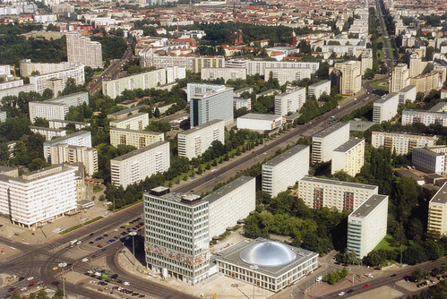 Berlin - Karl-Marx-Allee from TV Tower Flickr - Photo Sharing!
