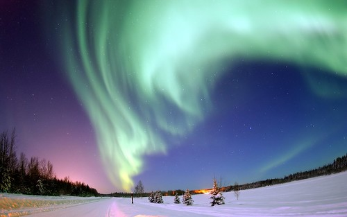 Aurora Borealis  - Bear Lake, Alaska | by Trodel