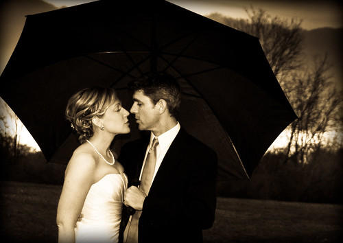 wedding in the rain... | by fiona 3