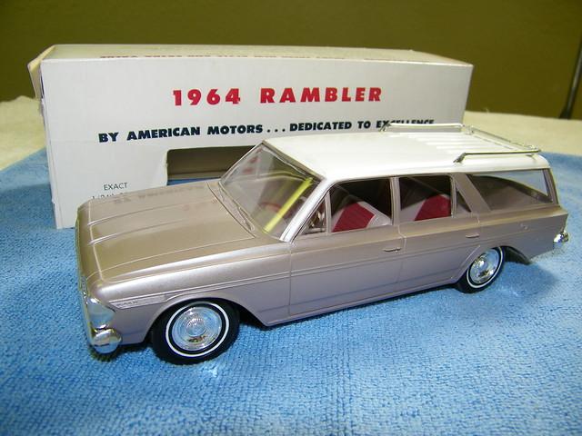 1964 rambler classic station wagon promo model car. Black Bedroom Furniture Sets. Home Design Ideas