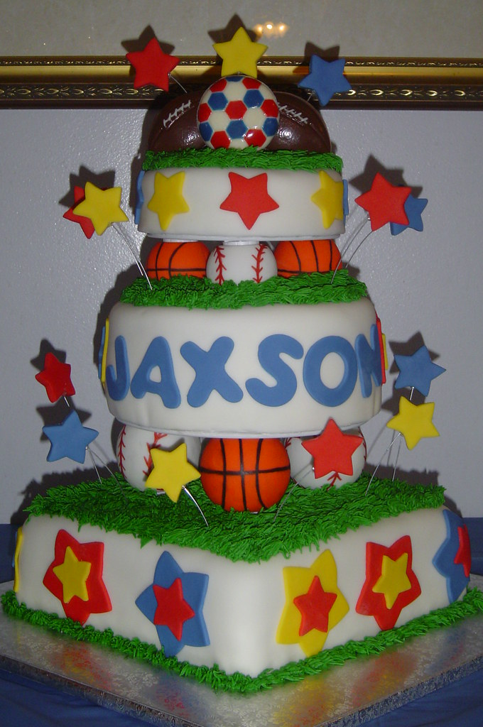 Sports Ball Birthday Cake This Cake Was For A Little Boy