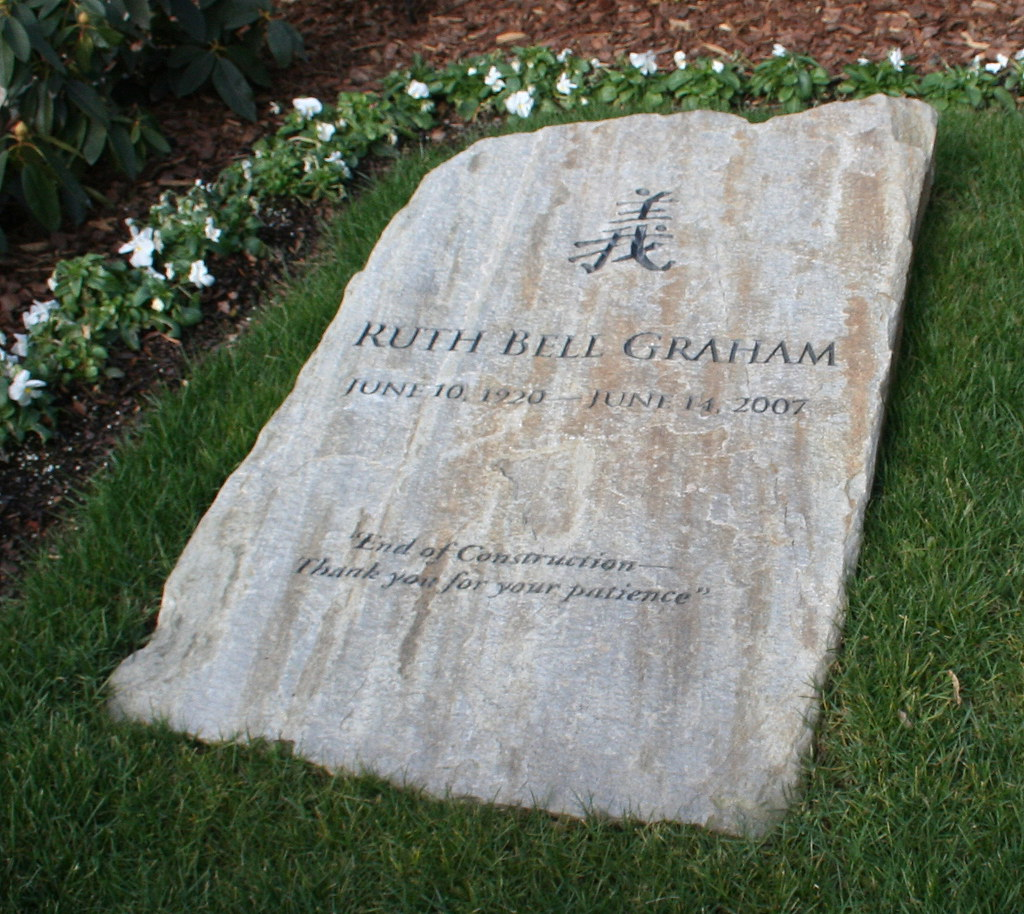 Ruth Grave k Ruth Graham's Grave | by