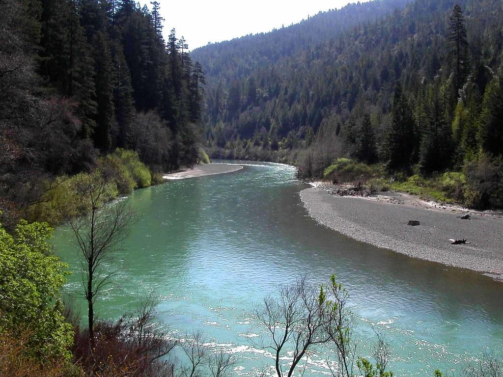 Beautiful Eel River In Northern California The Eel River