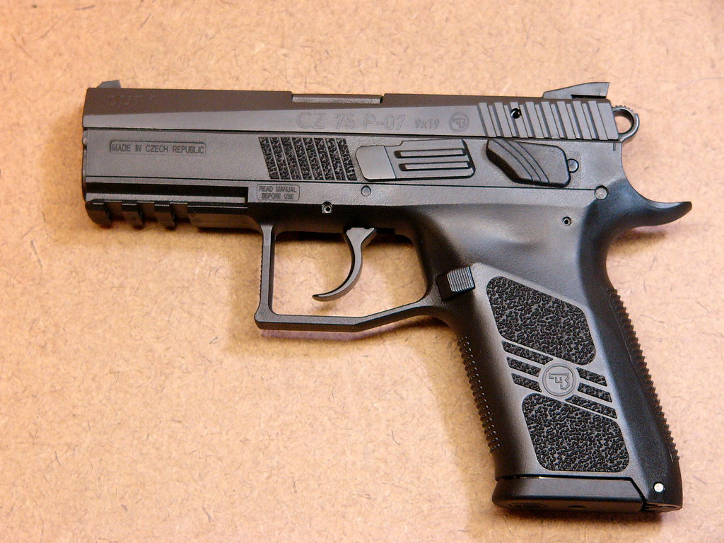 Cz P 07 Duty Cz Recently Introduced The P 07 Duty Model