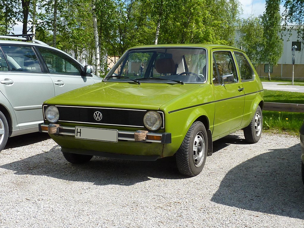 Vw Golf L 171 110 1975 Fruttan Flickr