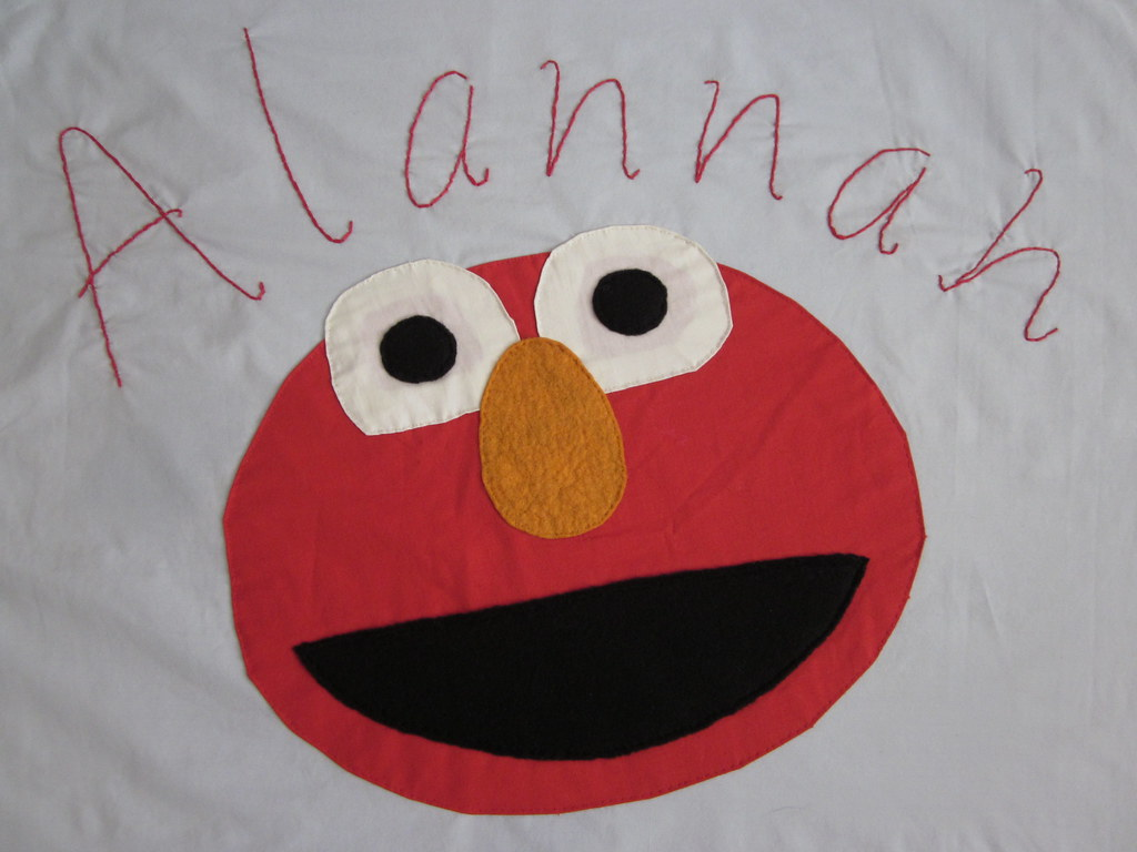 elmo pillowcase special order for a little elmo fan