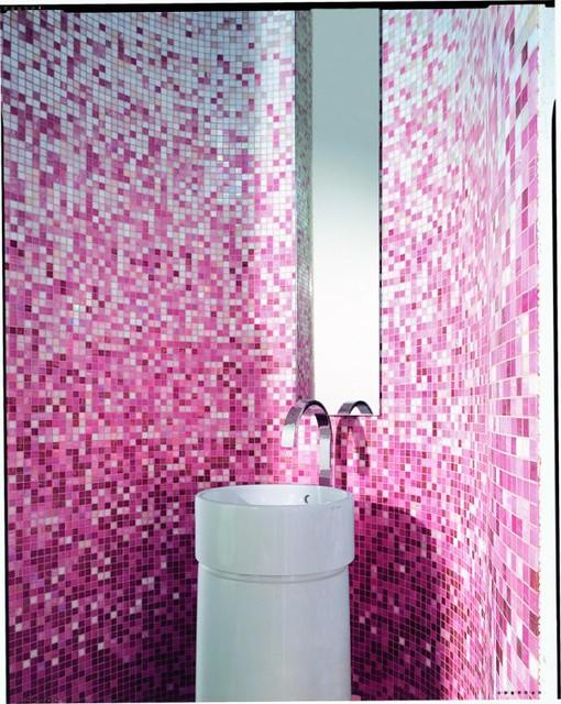 Pink mosaic tile bathroom design a magnificent bathroom wa flickr Bathroom decor tiles edgewater wa