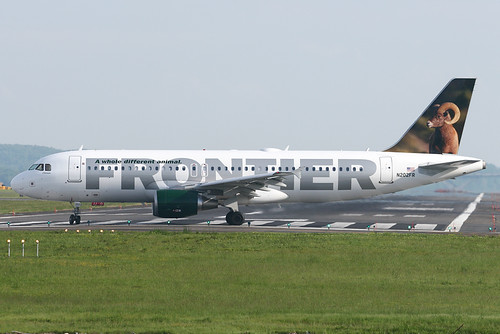 Frontier Airlines A320 214 N202fr Flickr Photo Sharing
