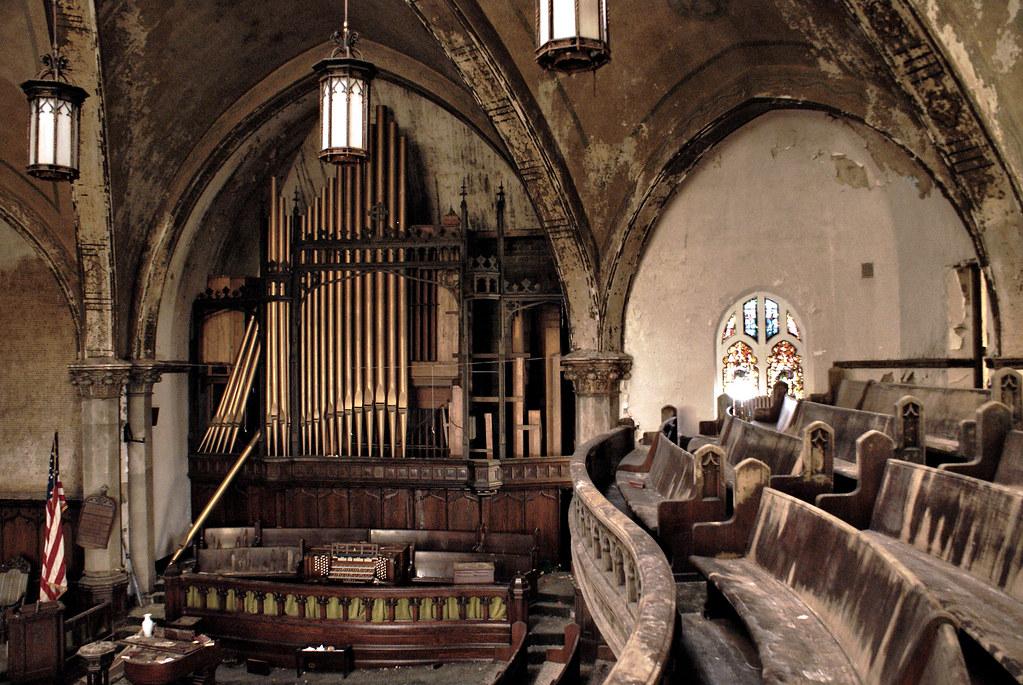 Abandoned Church Detroit 2 09 Robert Monaghan Flickr