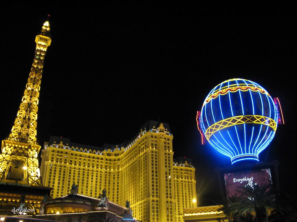 Leaning Hotel In Vegas