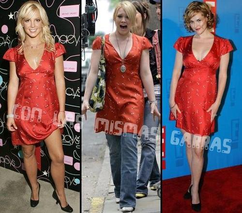 BRITNEY SPEARS, HILARY DUFF Y SARA RUE   The Lucifer's ... Hilary Duff