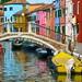 Burano Island in Venece, Italy.