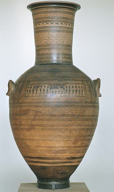 Dipylon Workship Athens 804 Geometric Amphora Athens Natio Flickr