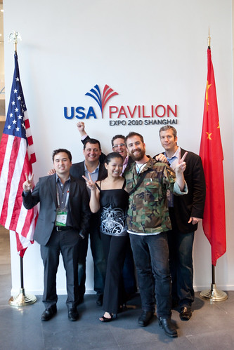 Geeks On A Plane Visit USA Pavilion @ Shanghai 2010 World Expo - China | by Kris Krug