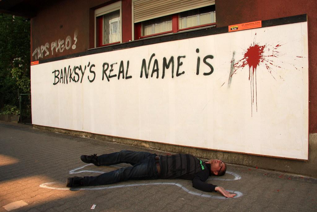 banksy's real name is... | berlin | Luna Park | Flickr