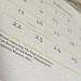 2009 Rare Book Calendar from 42-line