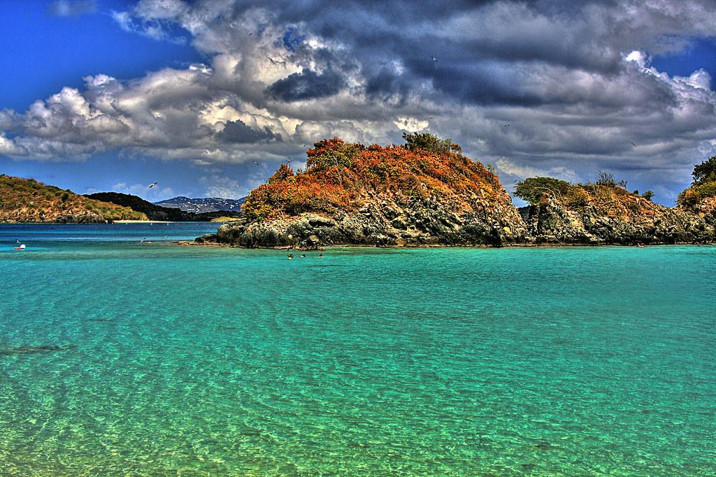 St Johns Virgin Island Cruz Bay St Ursulas Churches
