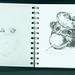 Doodling in the Mackage Sketchbook