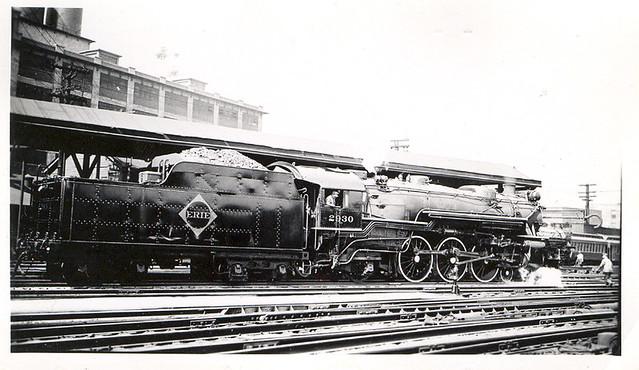 New Jersey >> Erie Railroad Locomotive | #2930 4-6-2 taken at Jersey City,… | Flickr