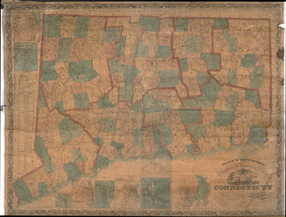 Clark & Tackaburys' new topographical map of the state of Connecticut | by uconnlibrariesmagic