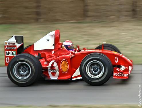 Mini Ferrari 248 F1 Miniaturized Ferrari F1 Diogo