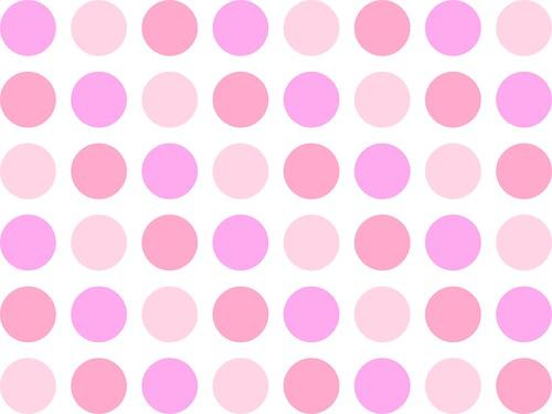 Pretty Polka Dots Backgrounds Pink Polka Dot Background