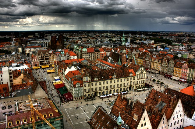 Wrocław from above