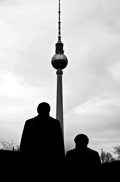 two guys and a space needle berlin ilker uzuner flickr. Black Bedroom Furniture Sets. Home Design Ideas
