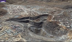 Cerro de Pasco Mine, Peru - Panoramic View of Pit Looking Northeast