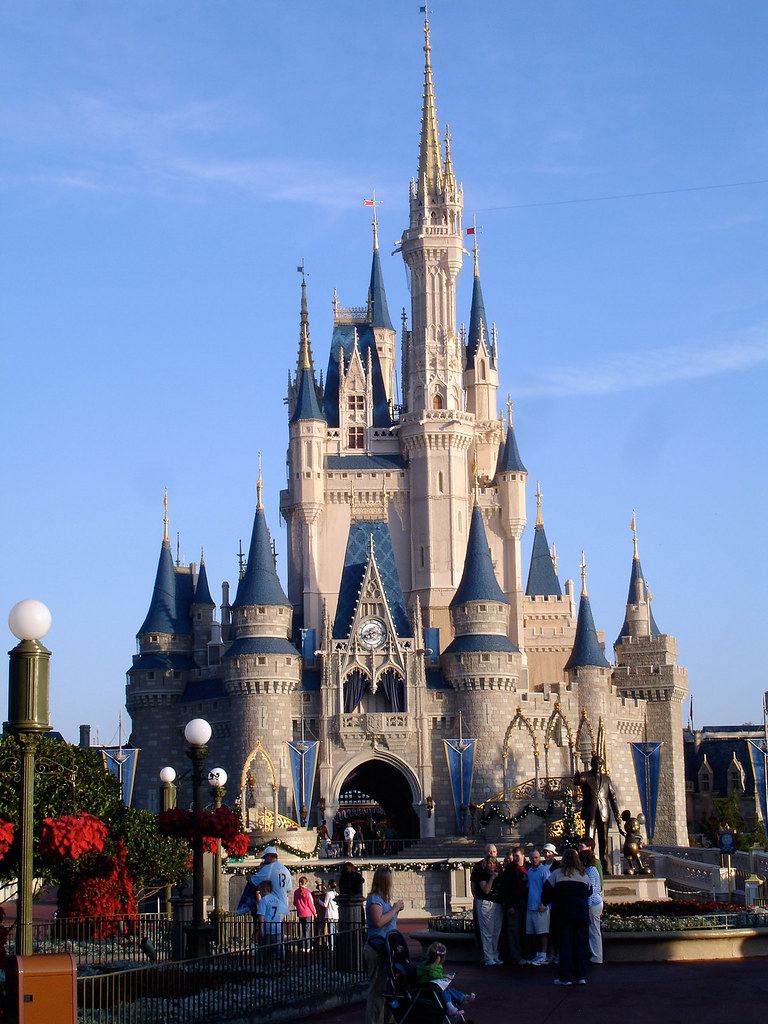 cinderellas castle 2 disney worlds castle differs from