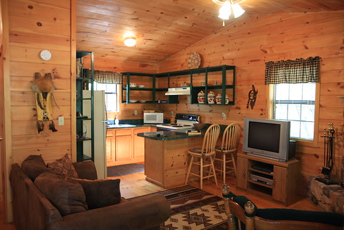 Cabin Kitchen | by The Noshery