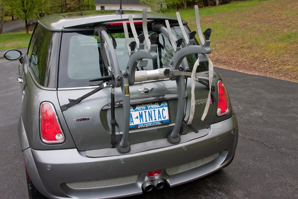Saris Bones Bike Rack >> Mini Cooper Bike Rack | I already had the Saris Bones 3 ...