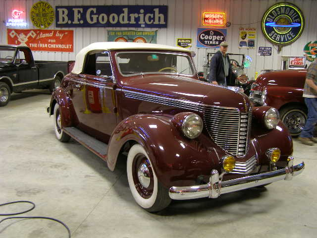 12b 1 1938 Desoto Cabriolet Rumble Seat Convertible Coupe