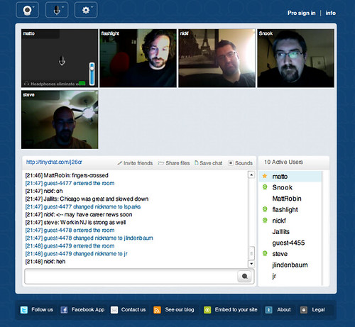 Tiny Chat Com Room Ston