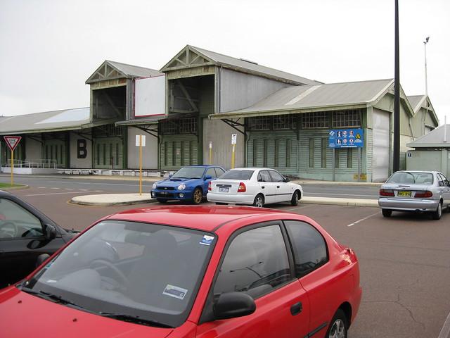 B Shed Fremantle Car Park